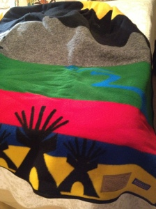 the Chief Bullhead blanket