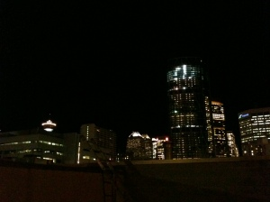 Taken from the Roof of the Calgary Drop-In, Dec 2011