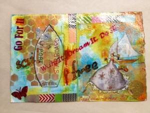 Art Journal Page 2 Sail Free