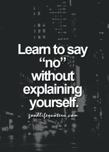 Practice Saying No Dare Boldly