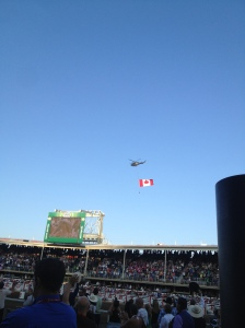 The Fly-past.