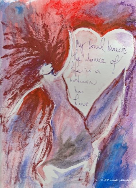 Soul Dance Art Journal - Watercolour