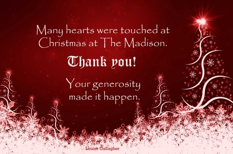 Thank you Christmas at The Madison copy