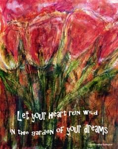 Art Journal Entry Jan 5 ©2015 Louise Gallagher