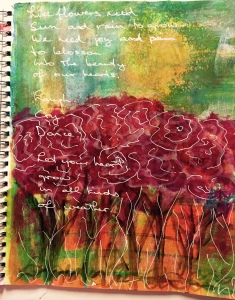 Art Journal Entry March 8, 2015