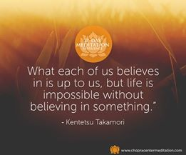 belief meditation
