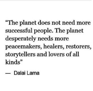 the planet does not need
