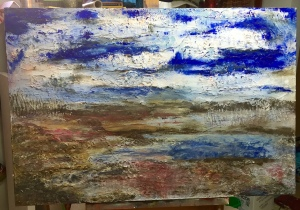 Work in Progress Mixed Media