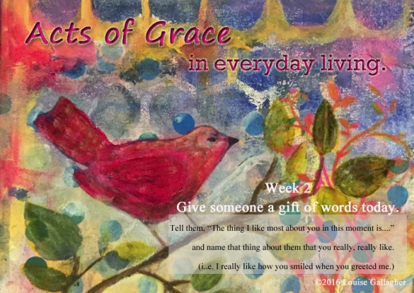 acts of grac Week 2