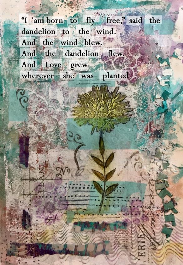 Day 8 dandelion love